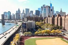 Cruzar puente Manhattan Nueva York Chinatown