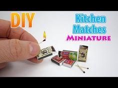 DIY miniature matches
