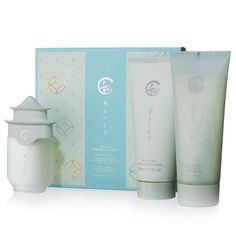 Online Exclusive! A simple statement of sheer poetry. A soft and warm floral evoking the serenity of a beautiful Japanese garden, blooming with delicate jasmine, lilies and sparkling citrus. Valued at $39.50, the set includes: Eau de Parfum Spray - 1.7 fl. oz. A $23 value.Body Lotion - 6.7 fl. oz. An $8 value.Shower Gel - 6.7 fl. oz. An $8.50 value.