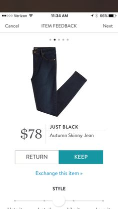 Great pair of denim again from stitch fix! Just Black. Stitch fix fall 2016. Stitch fix fall fashion.