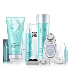 Package content: Galvanic Spa, facial gel and Nutriol Trio! Ends this end of the month! Galvanic Facial, Ageloc Galvanic Spa, Nu Skin Ageloc, Spa Facial, Face Lines, Hair Serum, Spot Treatment, Home Spa, Skin Care Regimen