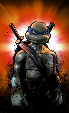 TMNT - Leonardo by Craig Deakes * The animation in the 2007 movie is so perf asdfghjkl