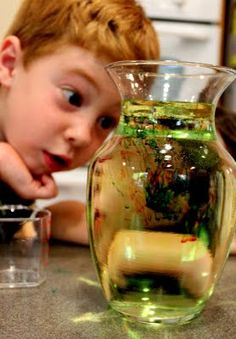 Fireworks in a Glass...get ready for your child to want to do this activity over and over again...