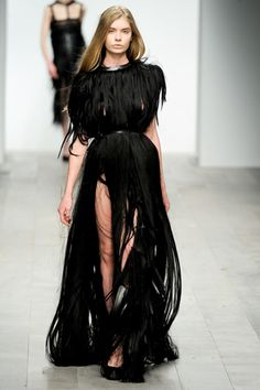 central saint martins Black Dress #2dayslook #sasssjane #BlackDress www.2dayslook.com