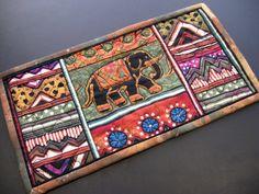 Elephant Mug Rug by felicity.quilts, via Flickr