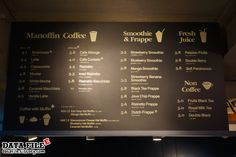 카페 메뉴판에 대한 이미지 검색결과