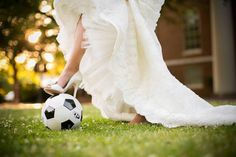 A special photo for my soccer loving husband!