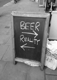 Brewing your own beer is not an easy process. Beer Memes, Beer Quotes, Funny Quotes, Pub Signs, Beer Signs, Restaurant Signs, Restaurant Ideas, All Beer, In Vino Veritas