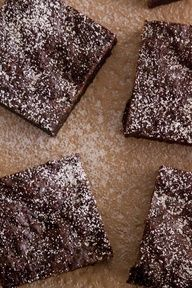 Cappuccino Brownies from What's Gaby Cooking