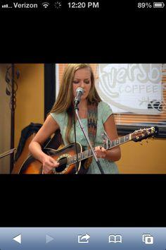 Savannah Richmond Music performing at Aversboro Coffee in Garner NC