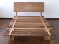 DIY headboard, attach to premade base. Bed Frame Design, Diy Bed Frame, Bed Design, Headboard Frame, My Furniture, Pallet Furniture, Bedroom Furniture, Furniture Design, Wooden Bed Frames