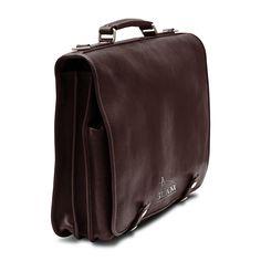 Briefcase Dark Brown - Briefcase Dark Brown
