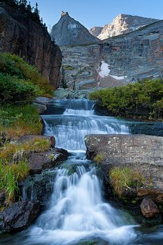 Fall Run-off near Black Lake, Rocky Mountain National Park, CO | Wayne Boland via Flickr