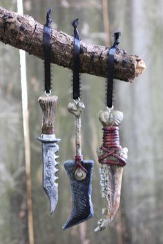 Supernatural Ornament SET Demon Knife First Blade Purgatory weapon SPN