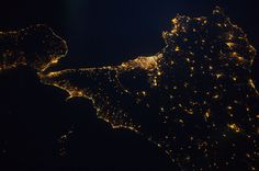 Siciliy From Space (NASA, International Space Station, 08/01/14) | Flickr - Photo Sharing!