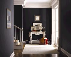 10 Ways to Achieve a Victorian Gothic-Inspired Home. Do you desire a home of opulent elegance? A Victorian Gothic interior design is one to consider. Gothic Interior, Luxury Interior Design, Modern Interior, Gray Interior, Interior Walls, Grey Paint Colors, Interior Paint Colors, Gray Paint, Gray Color
