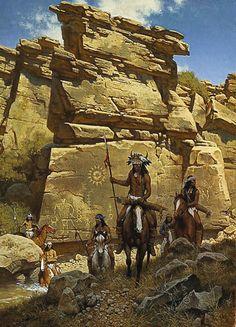 frank mccarthy original painting - Google Search