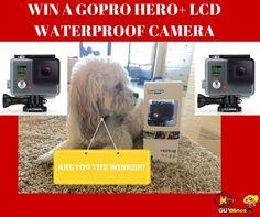 GoPro Hero+ LCD Waterproof Camera #Giveaway. ENDS 9/7. US/CAN. via @Melanyb12 #win