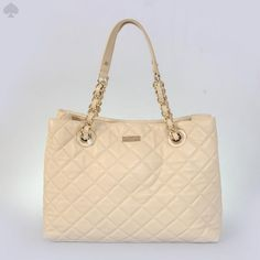 kate spade new york Cheap Kate Spade Bags, Kate Spade Handbags, Beige Shoulder Bags, Quilted Shoulder Bags, Milan Fashion Weeks, New York Fashion, Tokyo Fashion, Runway Fashion, Women's Fashion