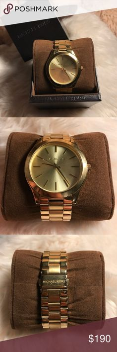 Michael Kors Watch Used only once with a couple scratches. Nothing else Michael Kors Accessories Watches
