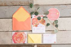 Wedding invitation inspiration | Rustic wedding | The School of Styling Charleston - A three-day hands-on workshop for creative entrepreneurs. http://www.theschoolofstyling.com