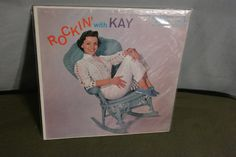 Vintage LP Rockin with Kay (Kay Starr). Great Rockabilly tracks and great cover with minor ring wear. Vinyl plays very nicely.