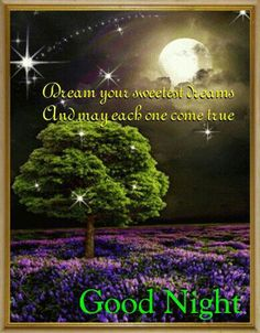 Charming Good Night And Sweet Dreams With This Ecard. Free Online Sweetest Dreams  Card Ecards On Everyday Cards