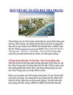 Đất nền dự án sân bay nha trang  Đất nền dự án sân bay nha trang - Hotline 0934136173 Mr Bảo