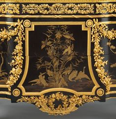 Commode, 1783  Info: Belonged to Marie Antoinette, and stood at the Château de Saint-Cloud.