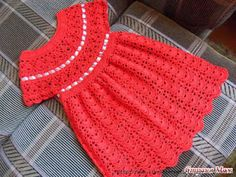 Scorzo Tricroche: Vestindo infantil em crochê com gráfico