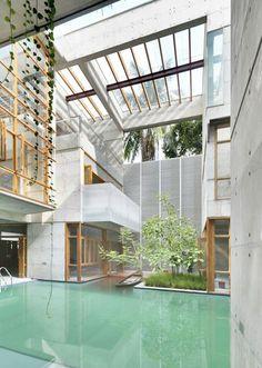 IN BEELD. Tien indrukwekkende zwembaden - De Standaard