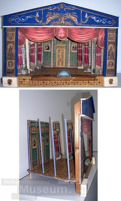 c1850-1900 Paper Theater