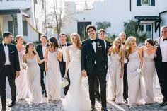 Neutral Formal Bridal Party Looks - Kleider Boulder Colorado, Colorado Springs, Glamorous Wedding, Trendy Wedding, Wedding Styles, Wedding Photos, Party Photos, Dream Wedding, Wedding Hair