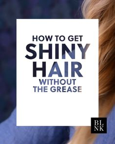 How to get shiny hair without the grease. to get shiny hair without the grease. How to get shiny hair without the grease. Hair Tips Video, Natural Hair Styles, Short Hair Styles, Natural Beauty, Super Hair, Shiny Hair, Dandruff, Facial Hair, Up Dos