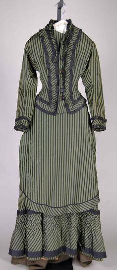 Dress, 1878, at the Met