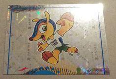 PANINI STICKER - FIFA - WORLD CUP 2014 - No 4 - MASCOT - FOIL - PART 1    eBay