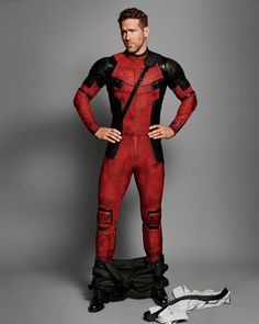 Ryan Reynolds-Deadpool<==I love this, hope there's a twelve days of deadpool this year