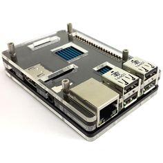Raspberry Pi 2 Model B black Color Acrylic Case