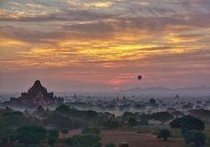 Solo ride.#Bagan #Myanmar #LiveTravelChannel Photo by: @jetsettingbirds