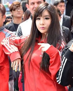 - Park Bom at the 'Adidas Flagship Store Renewal Opening' at Myungdong on April 19th, 2013 in Seoul, South Korea. | HQ - #박봄 #투애니원 #ParkBom #2NE1