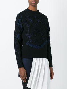 Sacai 刺繍セーター