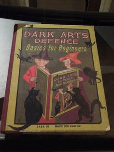 Dark Arts Defence, Basics for Beginners - Ministry Issue. - Magical spell book props from the Prisoner of Azkaban Harry Potter Characters Names, Harry Potter Book Covers, Harry Potter Dolls, Harry Potter Props, Dobby Harry Potter, Harry Potter Drawings, Harry Potter Theme, Harry Potter Movies, Welcome To Hogwarts