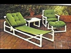 New Outdoor Patio Layout Furniture 20 Ideas Pvc Patio Furniture, Trendy Furniture, Outdoor Furniture Sets, Pvc Pipe Crafts, Pvc Pipe Projects, Furniture Layout, Furniture Design, Tube Pvc, Patio Layout