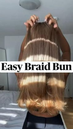 Work Hairstyles, Easy Hairstyles For Long Hair, Beach Hairstyles, Protective Hairstyles, Athletic Hairstyles, Black Women Hairstyles, Easy Braided Hairstyles, Super Easy Hairstyles, Hairstyles Videos