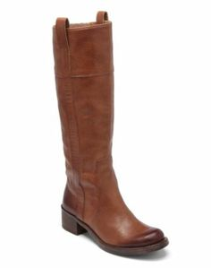 HIBISCUS RIDING BOOT- Lucky Brand Leather Boot, These are so soft and perfect!