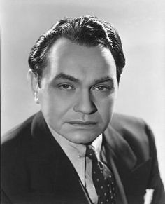 Edward G. Robinson, c. 1942. Plays the role as chief overseer in the movie The Ten Commandments and acts as the foe to Moses by taking Ramses defensive side and whereby revealing Moses as the son of Hebrews and not of Royal Egyptian descent.