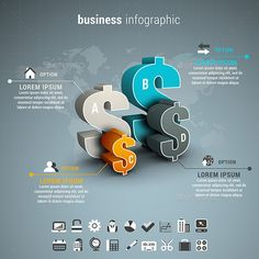 Business Infographic - #Infographics Download here: https://graphicriver.net/item/business-infographic/12725569?ref=alena994
