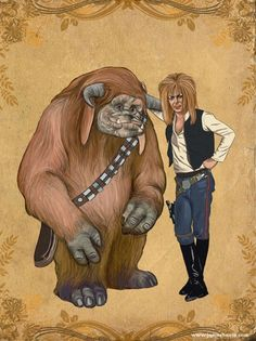 Labyrinth Wars or How David Bowie would look as Han Solo