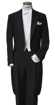 I'm a big fan of a formal tailcoat... for the groom anyway :)