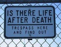 An excellent deterrent